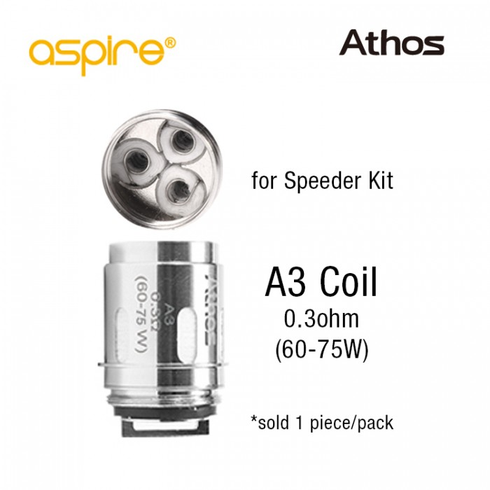 Aspire Athos Coil A3 (1pcs/pack) - for Speeder Kit