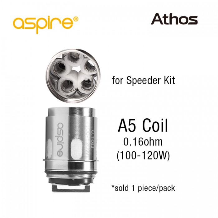 Aspire Athos Coil A5 (1pcs/pack) - for Speeder Kit
