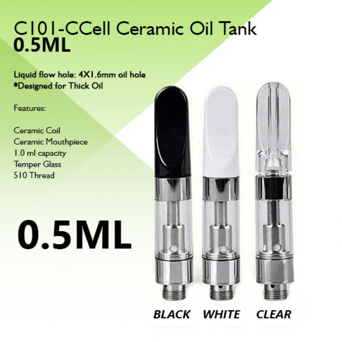 C101 - Ccell Cartridge - (0.5ml)