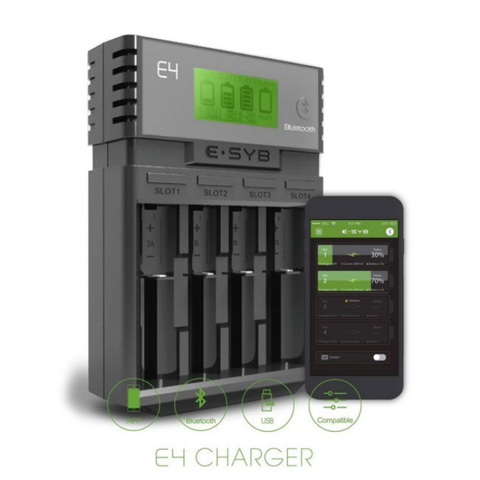 E-SYB E4 Battery Charger