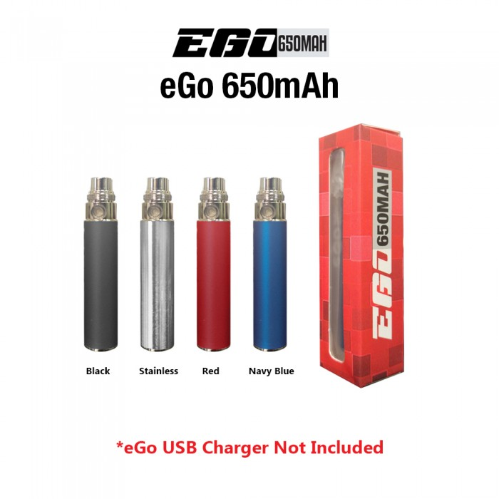 eGO 650mah Battery (No USB charger)