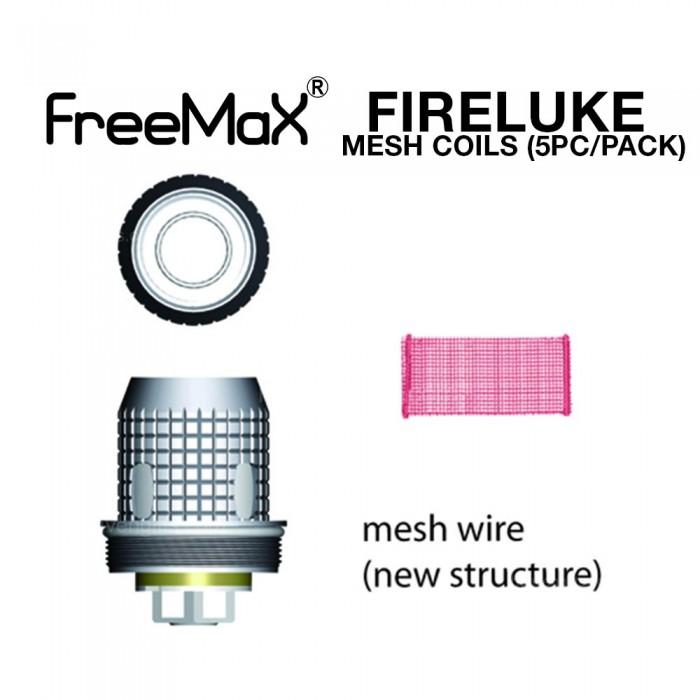 FreeMax FireLuke Mesh Coils (5pc/pack)