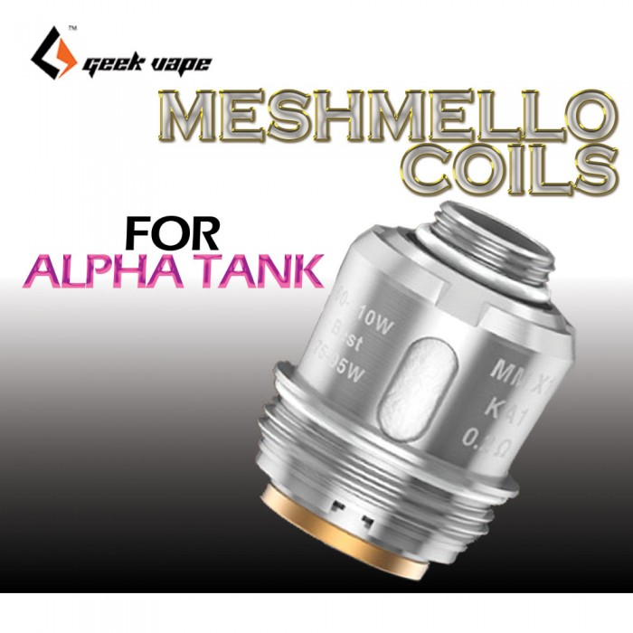 GEEK VAPE MESHMELLOW Coils for Alpha_ 3 PCS / PACK