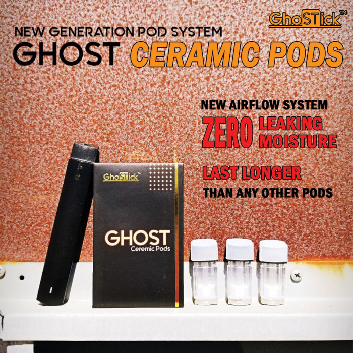 Ghost - Ceramic Pods (3pcs/box)