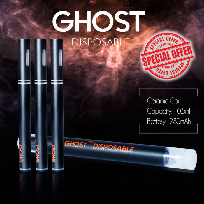 Ghost Disposable Oil Kit By Ghostick