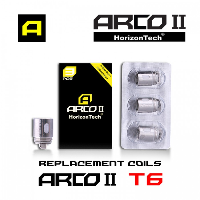Horizon Arco II Coils 0.2ohm T6 - (3pcs/box)