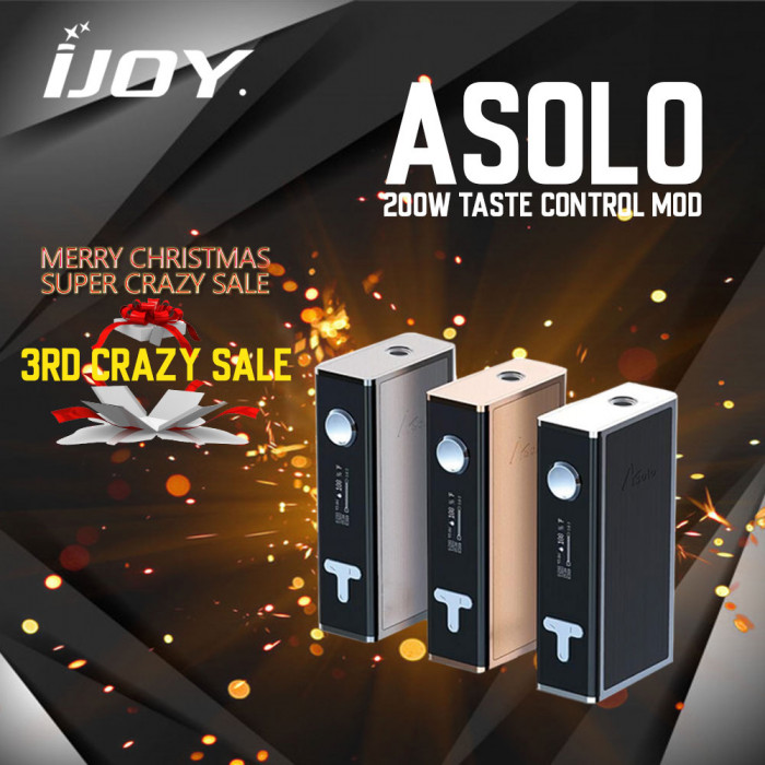 IJOY Asolo Taste Control Mod 200W