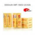 IMREN IMR 18650 3000 mAh 40 A Battery Gold [ 1 pc ]