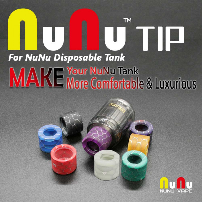 NuNu VAPE _ Drip tip for NuNu (MSRP $4.99)