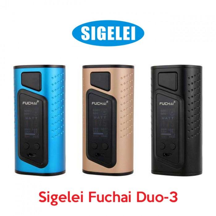 Sigelei Fuchai DUO-3 175W TC Mod