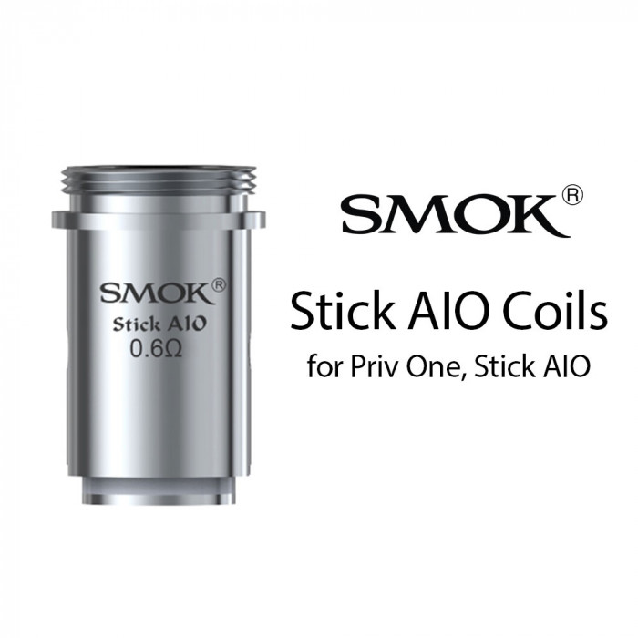 Smok Stick AIO coil (for Priv One, Stick AIO) (5pcs/pack)