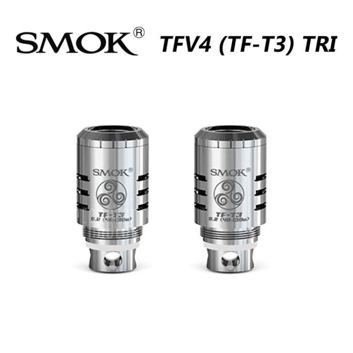 Smok TFV4  (TF-T3) TRI Coils 5pcs