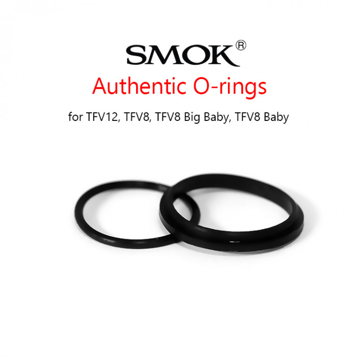 Smok Authentic O-rings (for TFV12,TFV8, TFV8 Big Baby, TFV8 Baby)