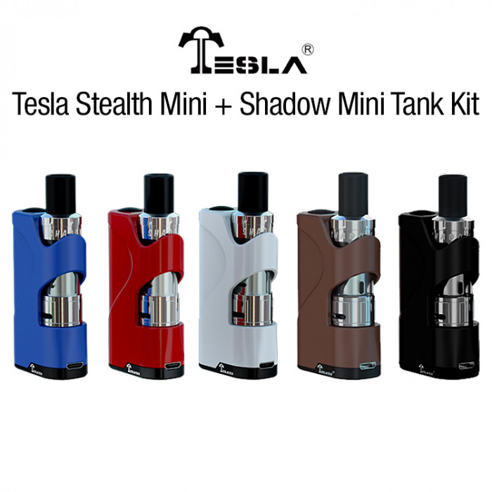 Tesla Stealth Mini  + Shadow Mini  Tank Kit - Clearance