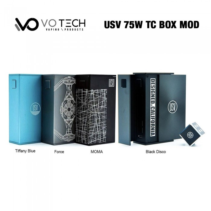 VO Tech USV 75W TC Box Mod
