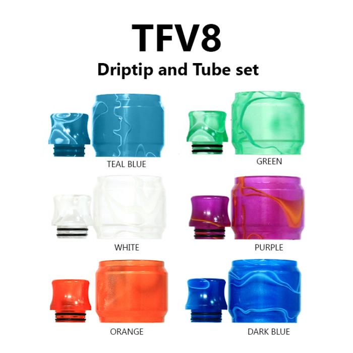 Replacement Tube & Driptip Set - TFV8