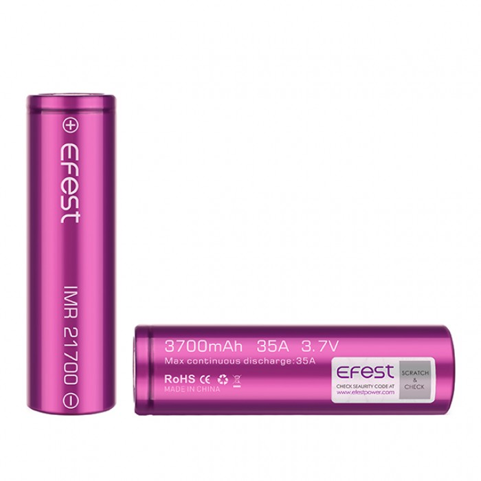 Efest 21700 3700mAh 35A Battery