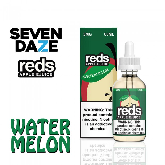 7 Daze - Watermelon Reds - 60ml