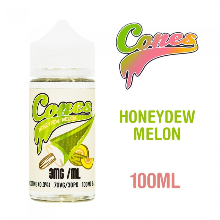 Cones Honeydew Melon - 100ml