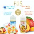 FOS - ICE PM (Peach Mango)  - 100ml (MSRP $30)