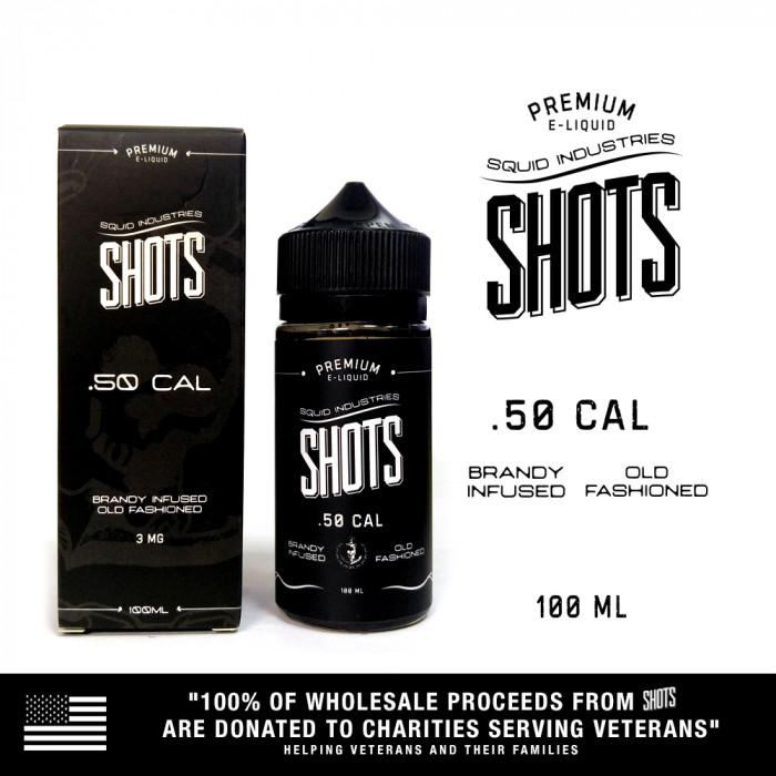Squid Shots .50 Cal - 100ml