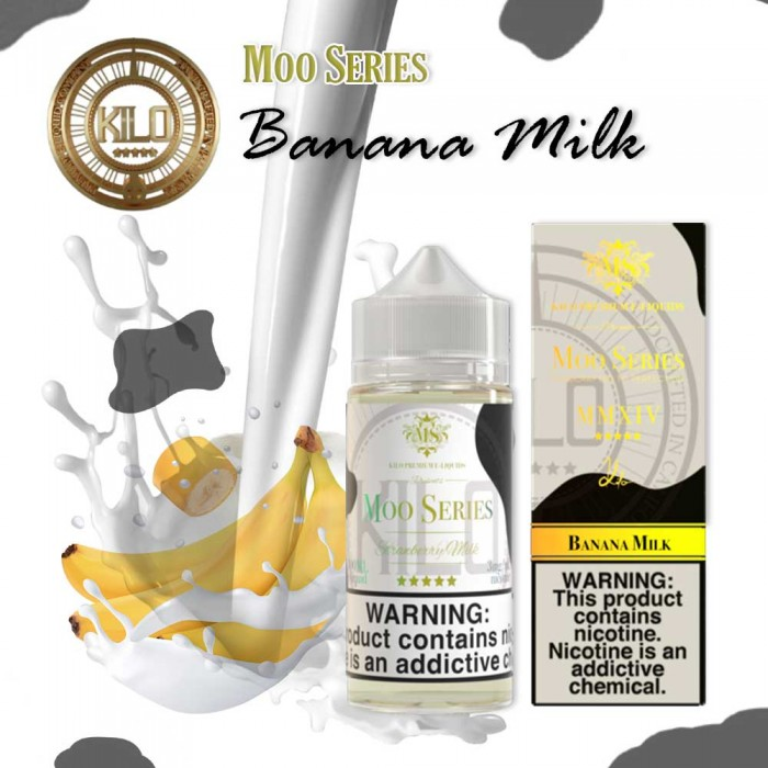 KILO MOO SERIES Banana Milk - 100 ml