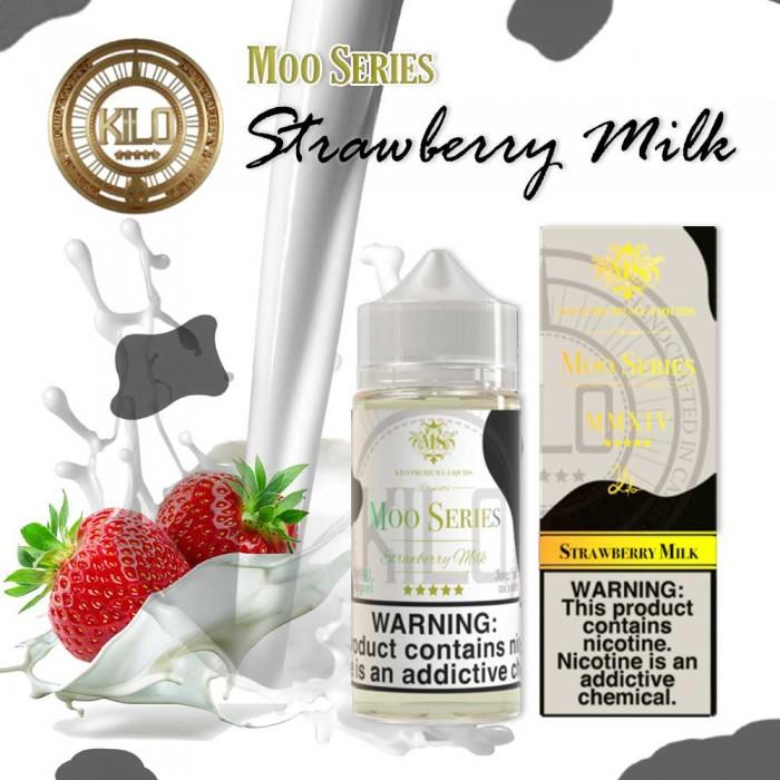 KILO MOO SERIES Strawberry Milk - 100 ml