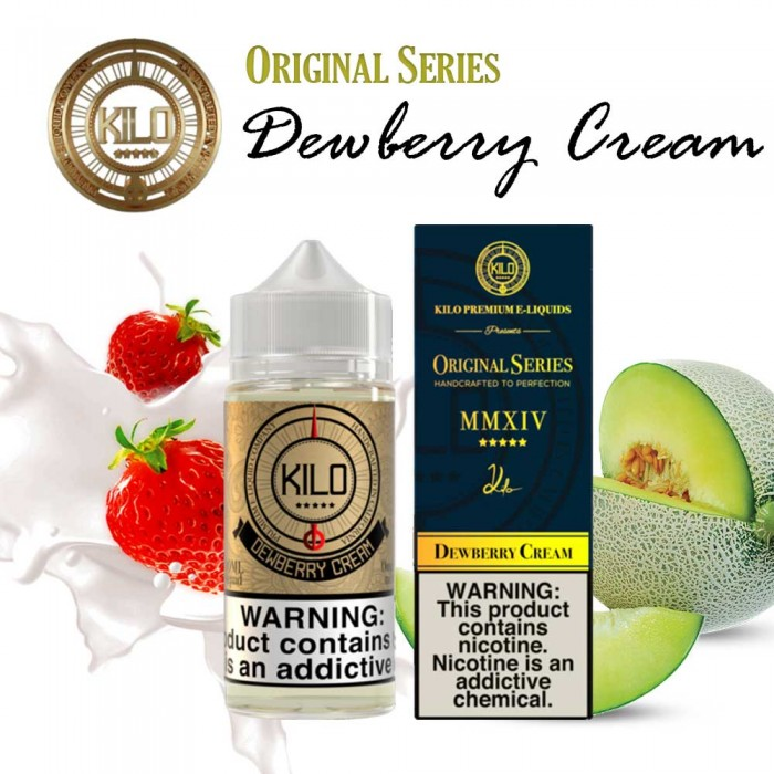 KILO ORIGINAL SERIES Dewberry Cream - 100 ml
