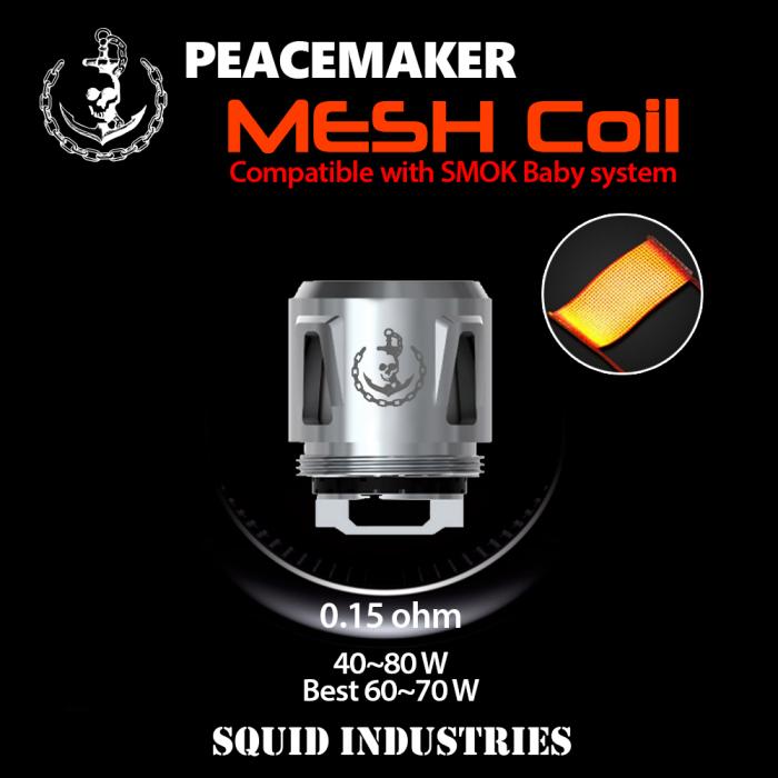 Squid Industries - PeaceMaker MESH Coils (5pcs/pack)