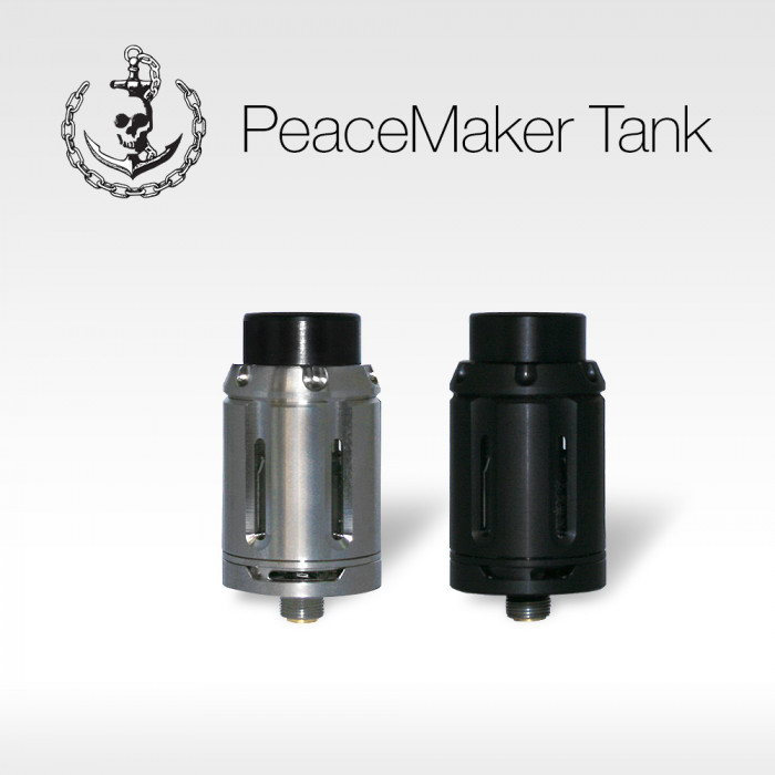 Squid Industries - PeaceMaker Sub-Ohm Tank  (MSRP $34.99)