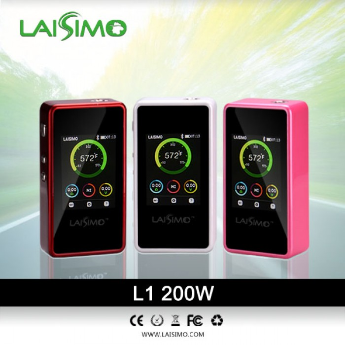 Laisimo L1 200 Watt TC Box Mod - Clearance